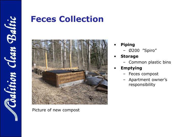 Feces Collection
