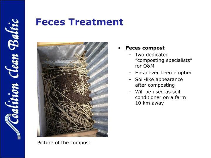 Feces Treatment