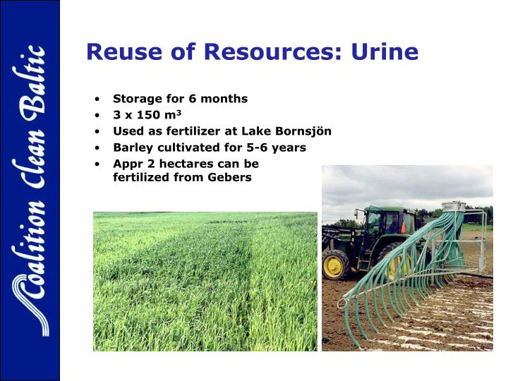 Reuse of Resources: Urine