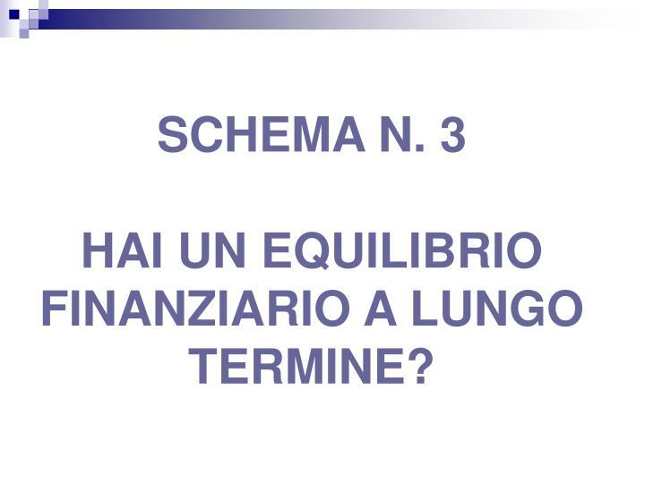 SCHEMA N. 3