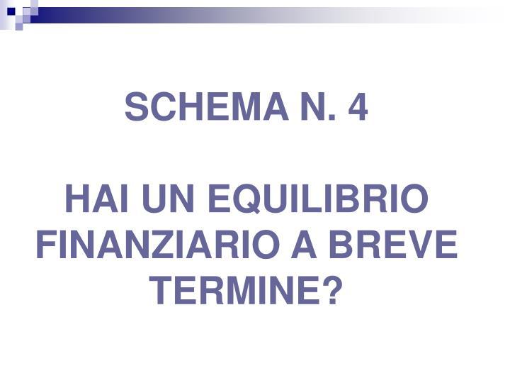 SCHEMA N. 4