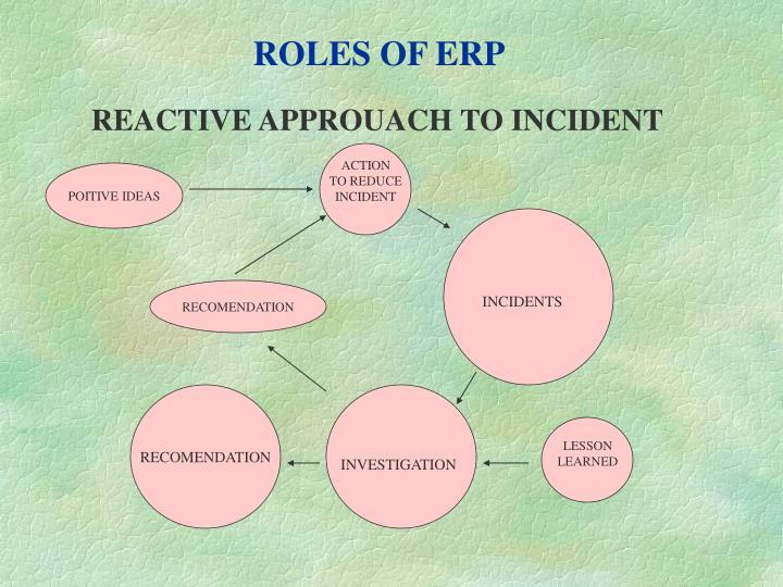 ROLES OF ERP