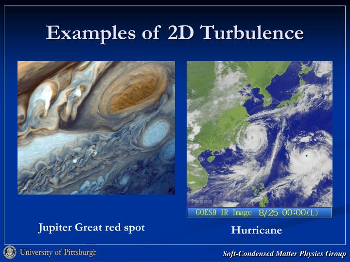 Examples of 2D Turbulence