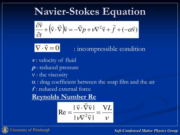 Navier-Stokes Equation