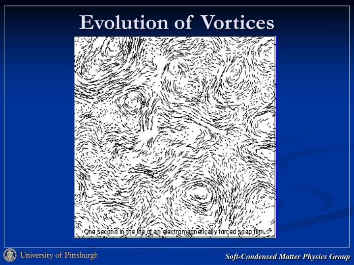 Evolution of Vortices