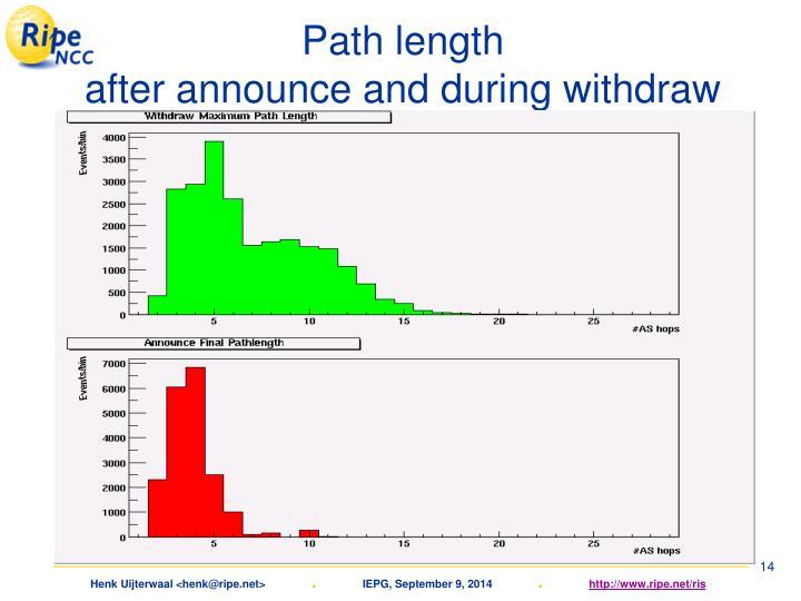 Path length