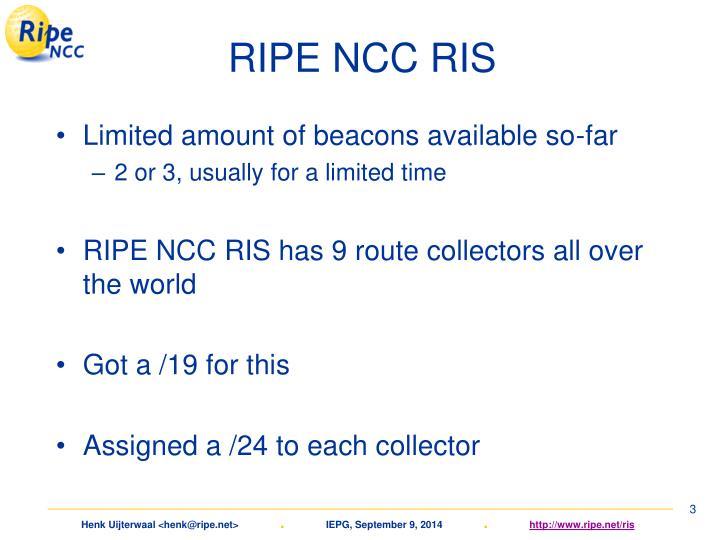 RIPE NCC RIS