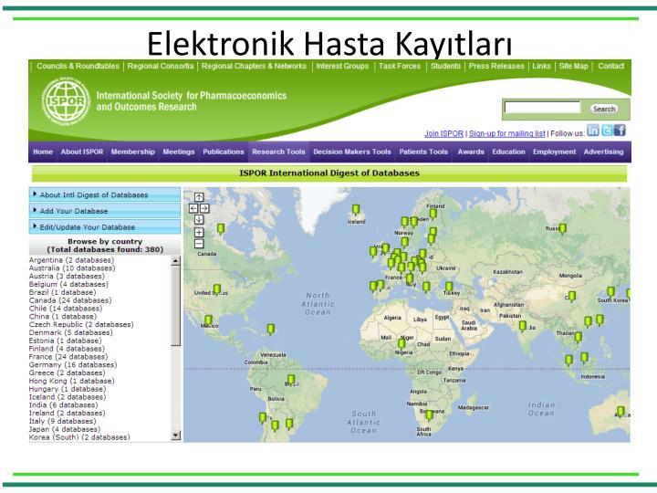 Elektronik Hasta Kayıtları