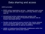 data sharing and access