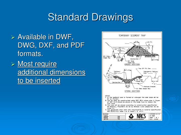 Standard Drawings