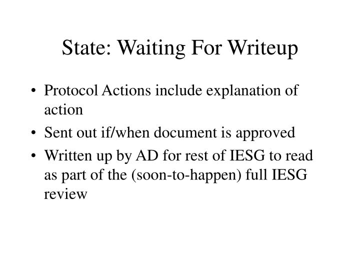 State: Waiting For Writeup