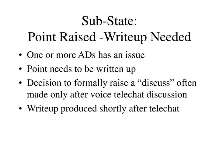 Sub-State: