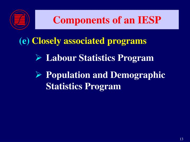 Components of an IESP
