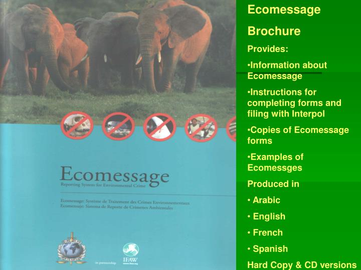 Ecomessage