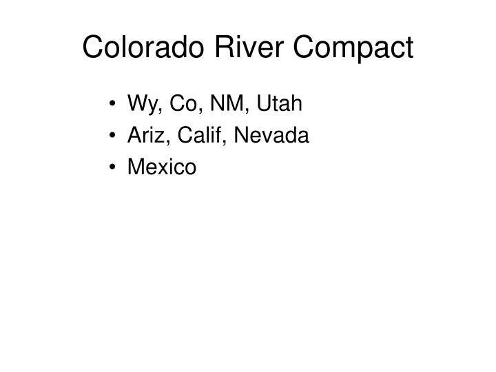 Colorado River Compact