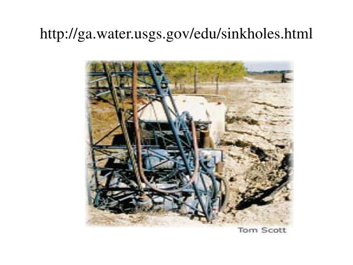 http://ga.water.usgs.gov/edu/sinkholes.html