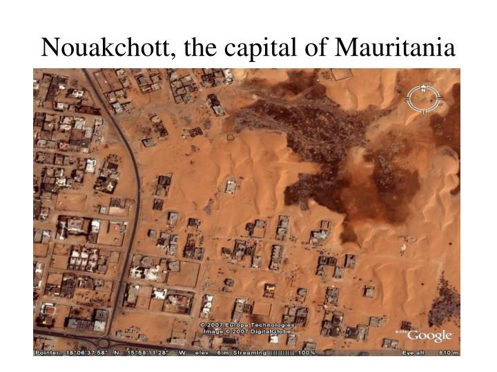 Nouakchott, the capital of Mauritania