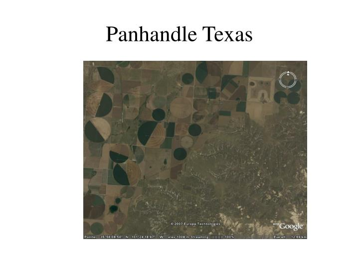 Panhandle Texas