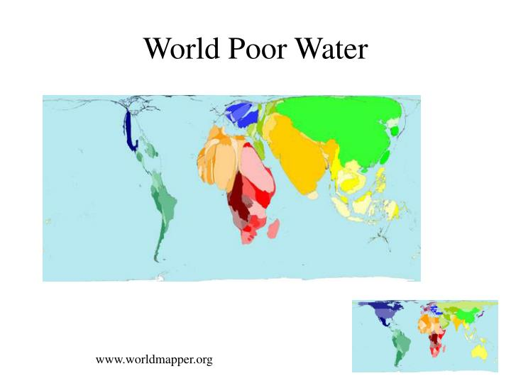 World Poor Water