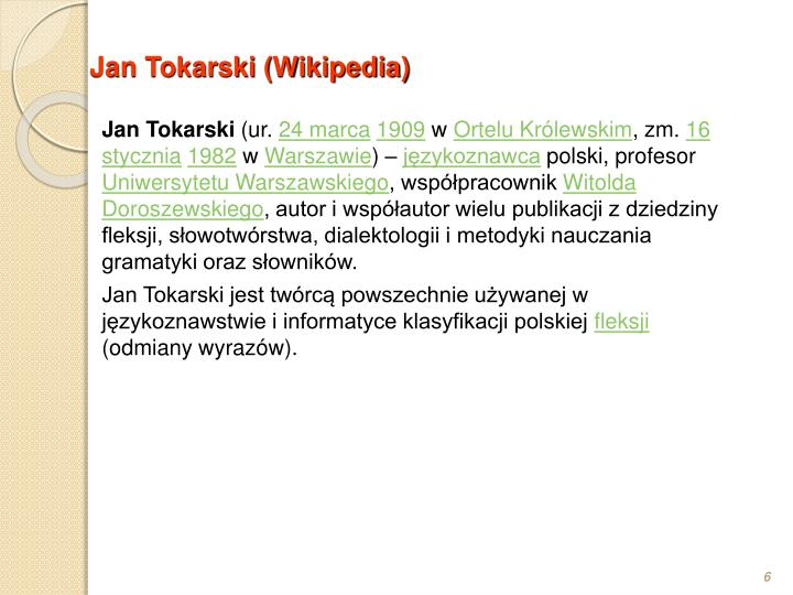 Jan Tokarski (Wikipedia)