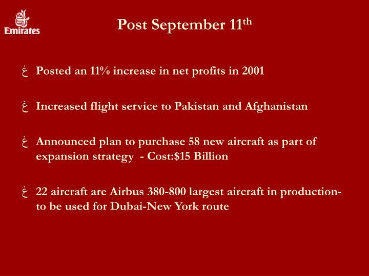 Post September 11
