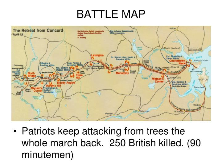 BATTLE MAP