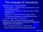 the conquest of convictions