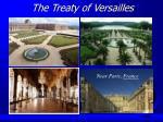 the treaty of versailles