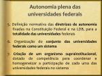 autonomia plena das universidades federais1