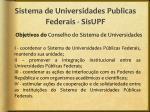 sistema de universidades publicas federais sisupf1