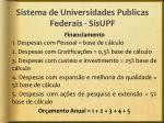 sistema de universidades publicas federais sisupf10