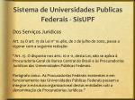sistema de universidades publicas federais sisupf11