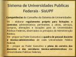 sistema de universidades publicas federais sisupf3