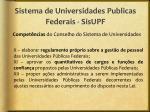 sistema de universidades publicas federais sisupf4