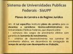 sistema de universidades publicas federais sisupf6