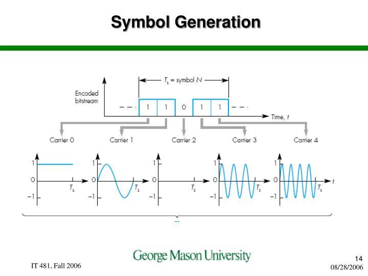 Symbol Generation