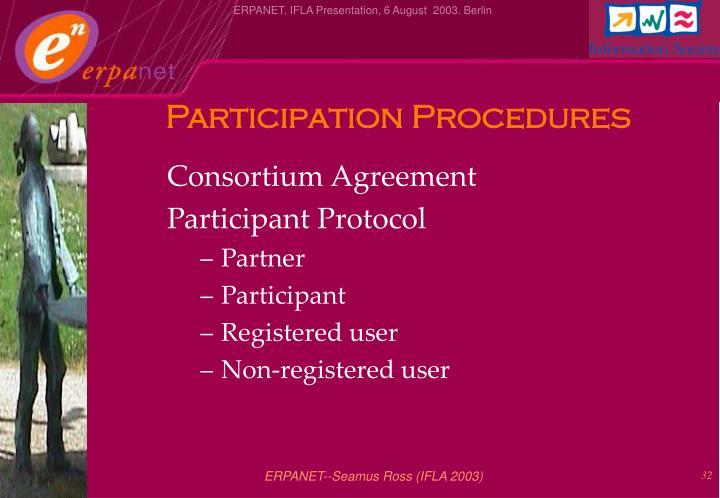 Participation Procedures