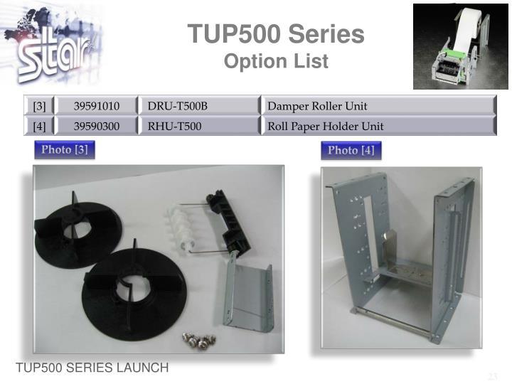 TUP500 Series