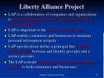 liberty alliance project