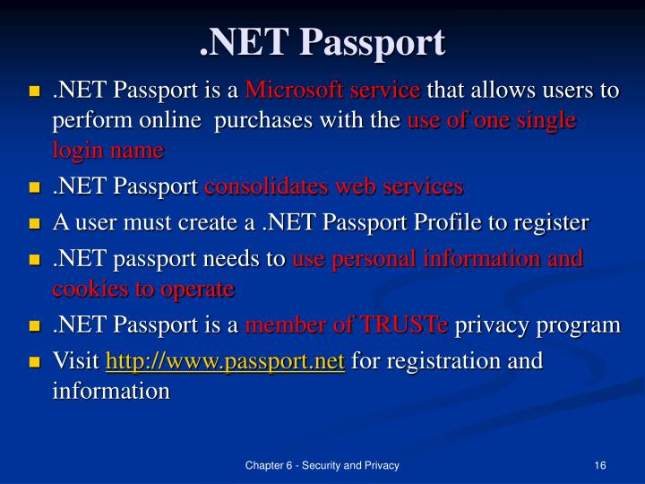 .NET Passport