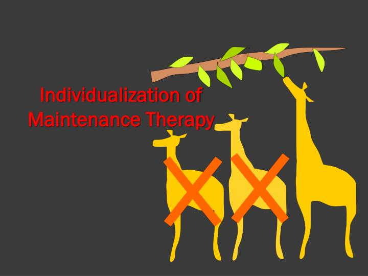Individualization of