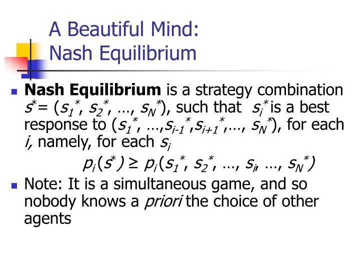 A Beautiful Mind: