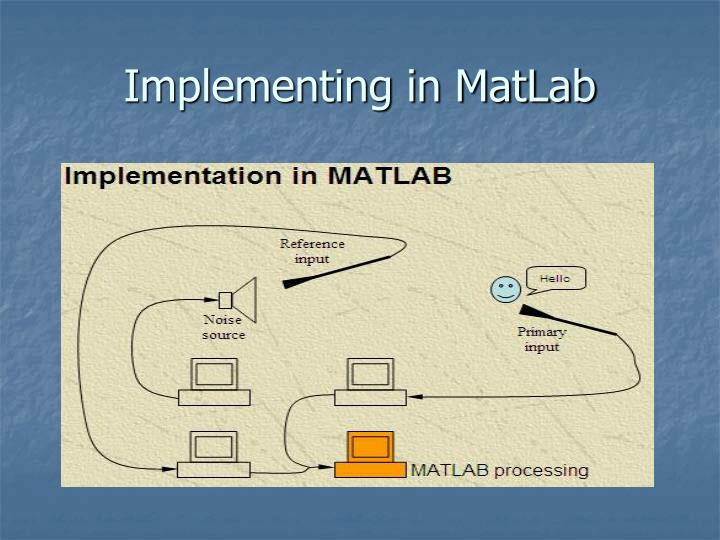 Implementing in MatLab