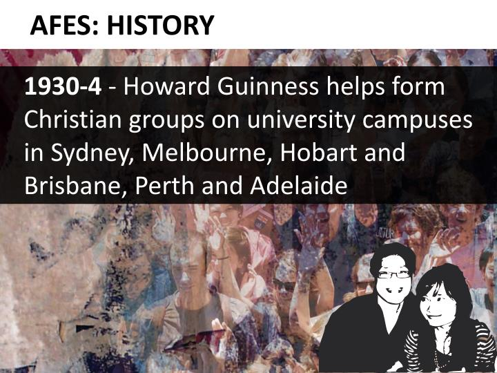 AFES: HISTORY