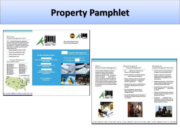 Property Pamphlet