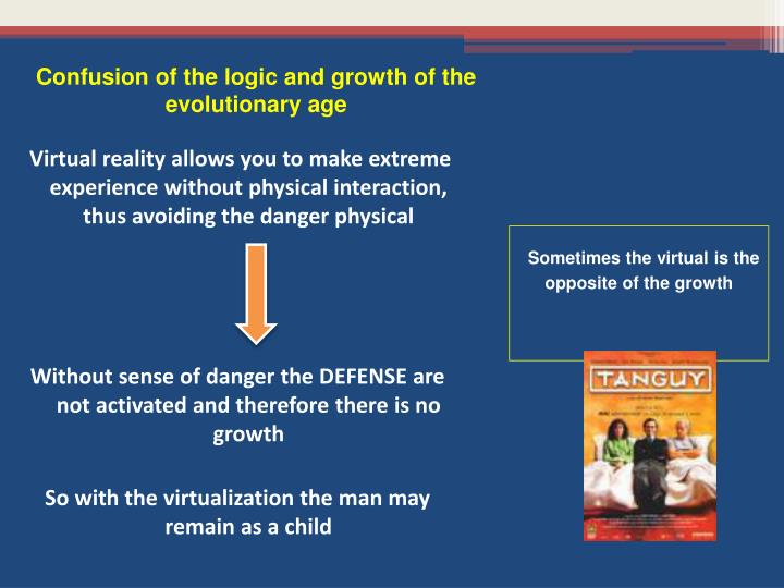 Confusion of the logic and growth of the evolutionary age