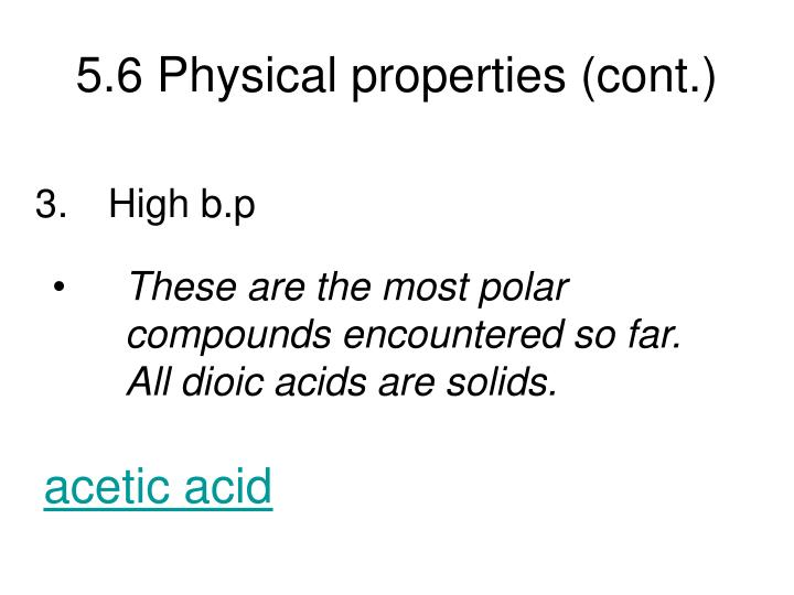 5 6 physical properties cont