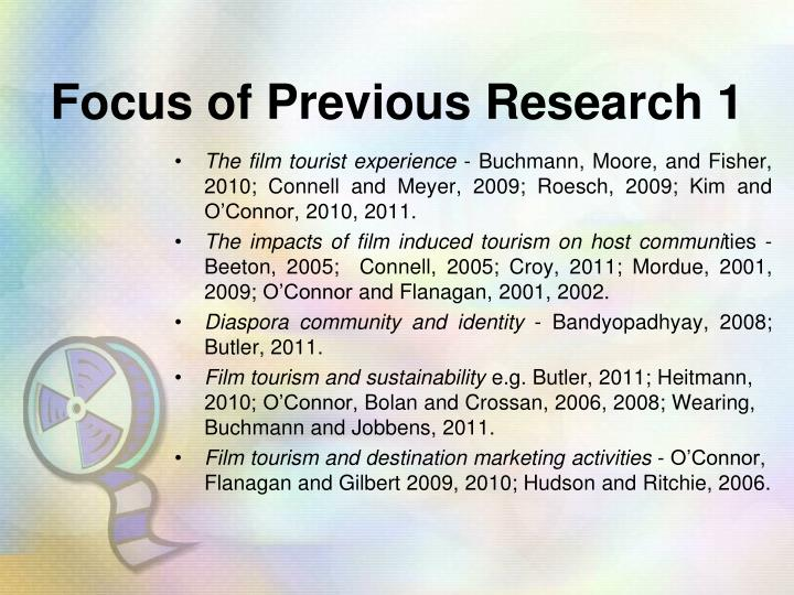 Focus of Previous Research 1