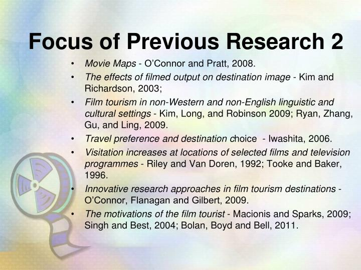 Focus of Previous Research 2