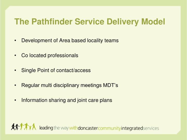 The Pathfinder Service Delivery Model